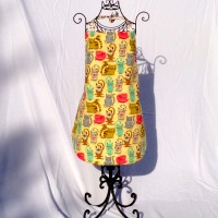 Kitty Cat Apron – Size S, M, and L