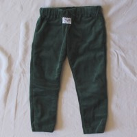 Forest Green Velveteen Leggings