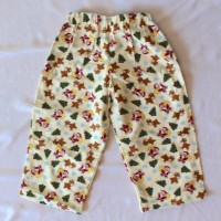 Christmas Tree, Rudolph, and Santa Flannel Pants – Size 18 months