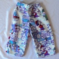 Fleece Peanuts Snowball Fight Pants