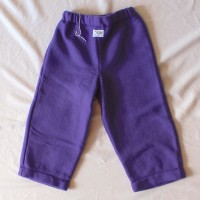 Purple Fleece Pants