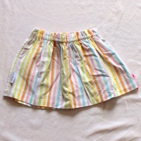 Rainbow Stripes/Purple Reversible Skirt – Size 12 – 24 months