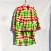 Red and Green Plaid Hoodie and Pants – Size 2-3