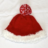 Red and White Santa Hat