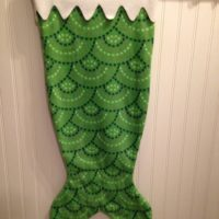 Green Scale Mermaid Tail