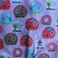Birdhouse and Birds Nursing Cover